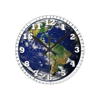 el globo es nuestra tierra reloj