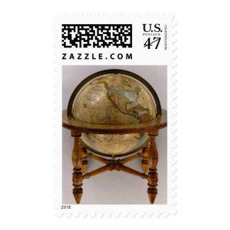 El globo terrestre 3 de Loring Timbre Postal