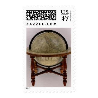 El globo terrestre de Loring Sello Postal