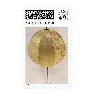 El globo terrestre portátil de Betts Franqueo
