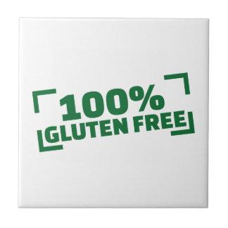 El gluten 100% libera azulejo cuadrado pequeño