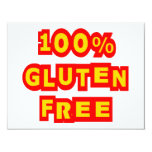 El gluten 100% libera invitacion personal