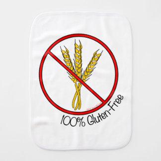 El gluten 100% libera paños para bebé