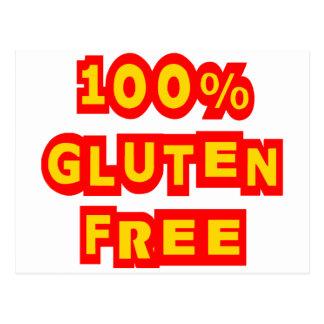 El gluten 100% libera postal