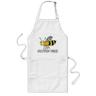 El gluten de la abeja libera delantal largo