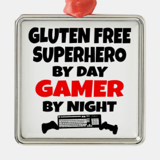 El gluten del videojugador libera al super héroe ornamento de reyes magos