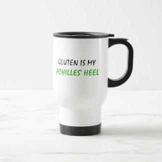 El gluten es el mi talón de Aquiles Taza Térmica