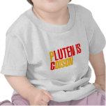 El gluten es veneno camisetas
