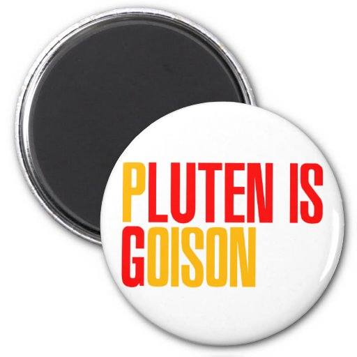El gluten es veneno imanes