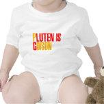 El gluten es veneno traje de bebé