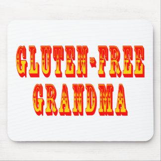 El gluten libera a la abuela alfombrilla de raton