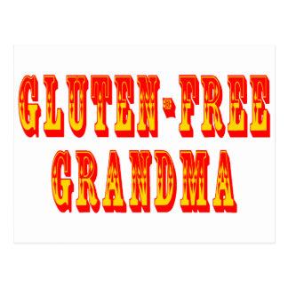 El gluten libera a la abuela postal