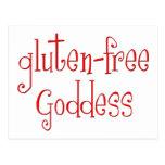 El gluten libera a la diosa postales