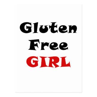El gluten libera al chica postal