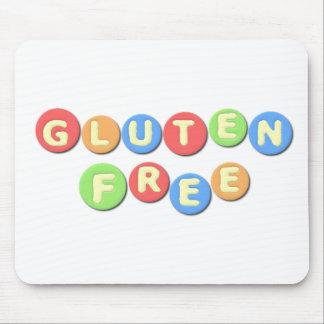 El gluten libera celiaco tapetes de ratones