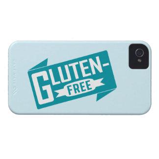 El gluten libera iPhone 4 Case-Mate protectores