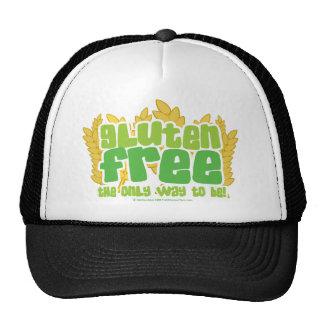 El gluten libera gorra