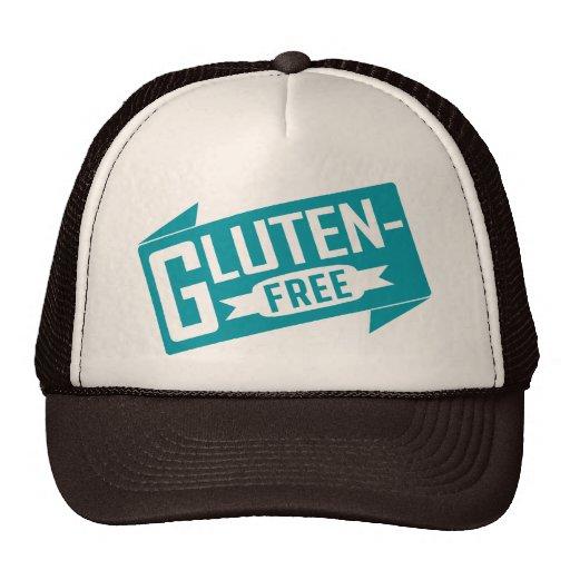 El gluten libera gorros bordados