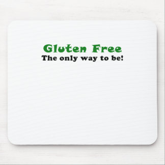 El gluten libera la única manera de ser tapete de raton