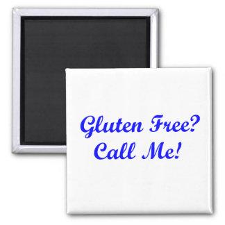 ¿El gluten libera ¡Llámeme Iman Para Frigorífico