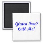 ¿El gluten libera? ¡Llámeme! Iman Para Frigorífico