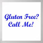 ¿El gluten libera? ¡Llámeme! Impresiones