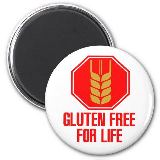 El gluten libera para la vida imanes