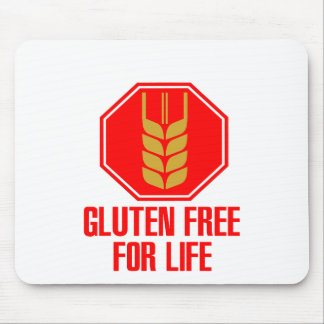 El gluten libera para la vida mousepad