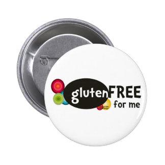 El gluten libera para mí pin