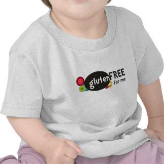 El gluten libera para mí camisetas