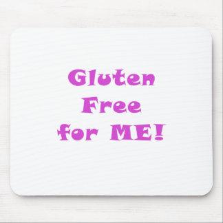 El gluten libera para mí tapetes de ratón