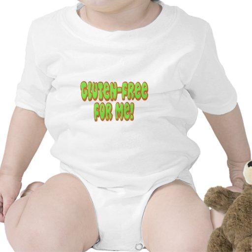 El gluten libera para mí trajes de bebé