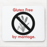 El gluten libera por boda alfombrillas de raton
