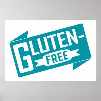 El gluten libera póster