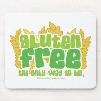El gluten libera alfombrillas de raton