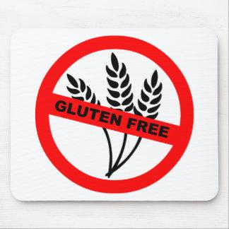 El gluten libera tapetes de ratón