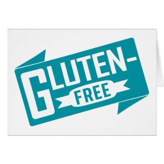 El gluten libera tarjeta