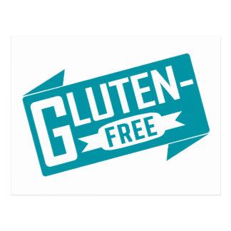 El gluten libera postal