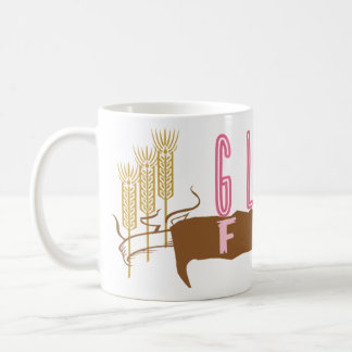 El gluten libera taza de café