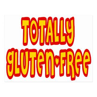 El gluten libera totalmente postal