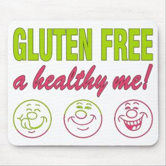 ¡El gluten libera un sano yo! Alergia del gluten Alfombrillas De Raton