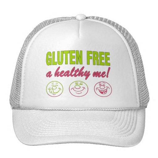 ¡El gluten libera un sano yo! Alergia del gluten c Gorra