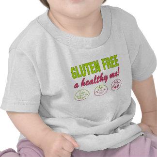 ¡El gluten libera un sano yo! Alergia del gluten Camisetas