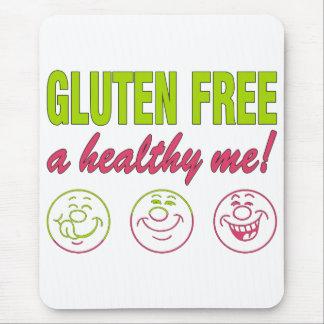 ¡El gluten libera un sano yo! Alergia del gluten Tapete De Raton