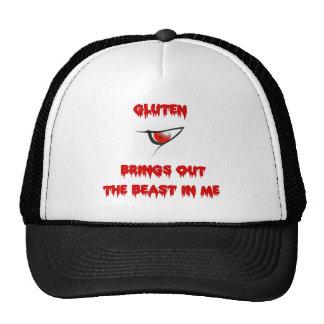 El gluten pone en evidencia la bestia en mí gorro