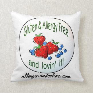 El gluten y la alergia liberan la almohada