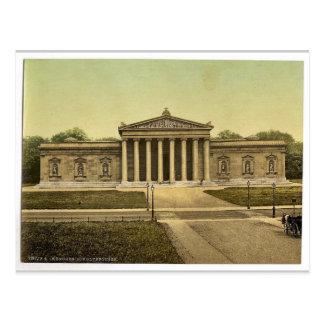 El Glypothek (galería de arte), Munich, Baviera, g Tarjeta Postal