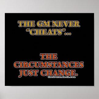 El GM nunca engaña Póster