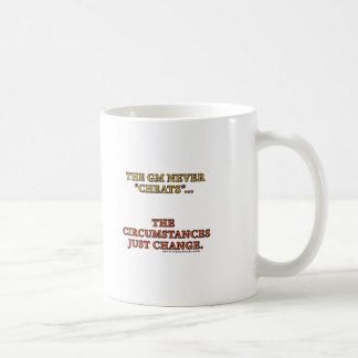 El GM nunca engaña Tazas De Café