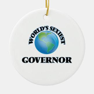 El gobernador más atractivo del mundo ornamentos de reyes